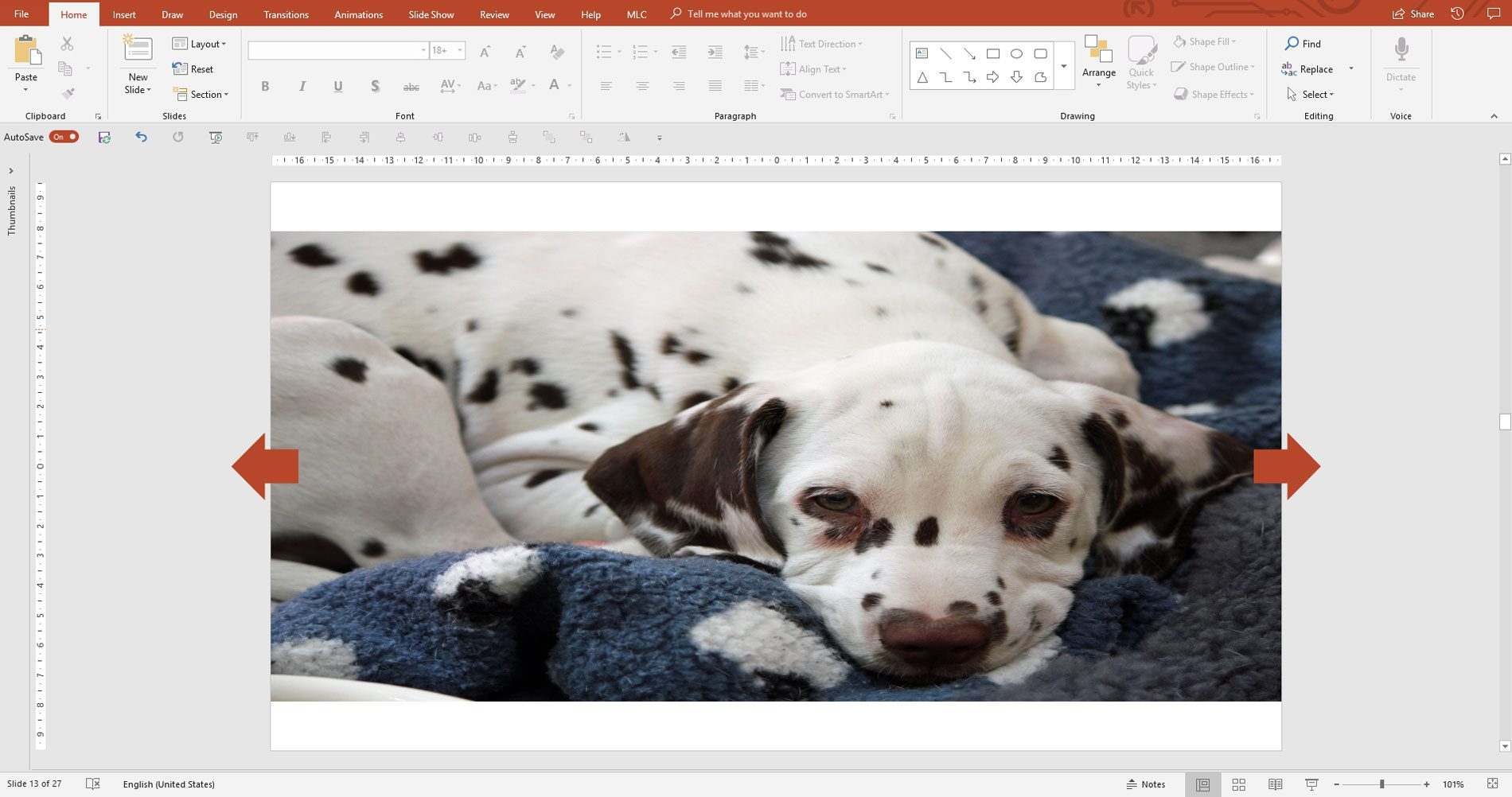crop images in powerpoint